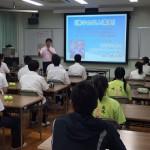 静岡県浜松市:浜松啓陽高校で運動部を対象に特別講座
