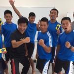 ラフティング日本代表 TEAMテイケイさんにて集中力トレーニング